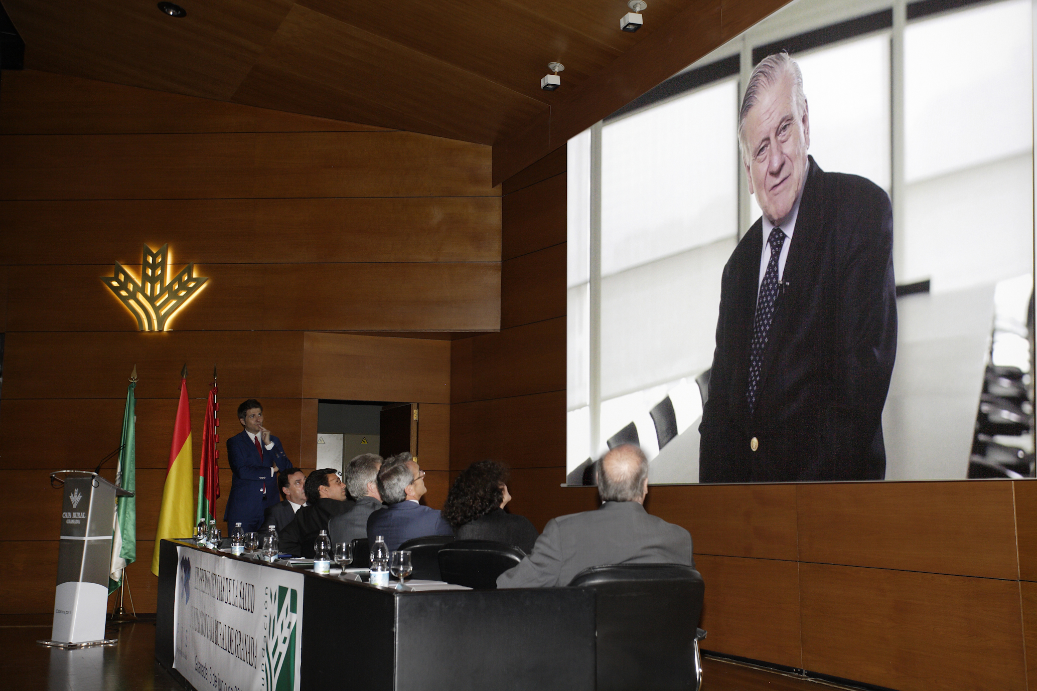 El Dr. Valentín Fuster recibe el XII Premio Ciencias de la Salud de Investigación de la Fundación Caja Rural de Granada