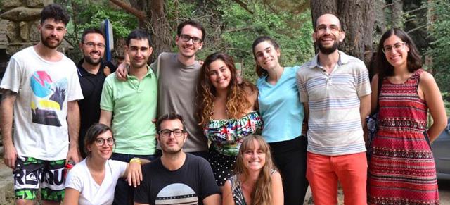 Agosto 2018. Excursión a las piscinas naturales de Cercedilla con nuestros cicerone.