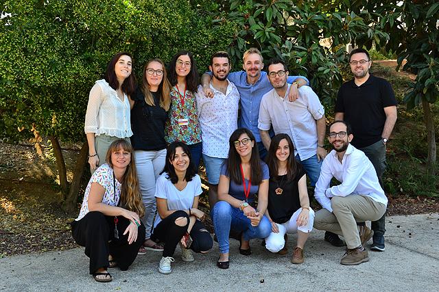 July 2019. Summer 2019 photo group at CNIC's campus.