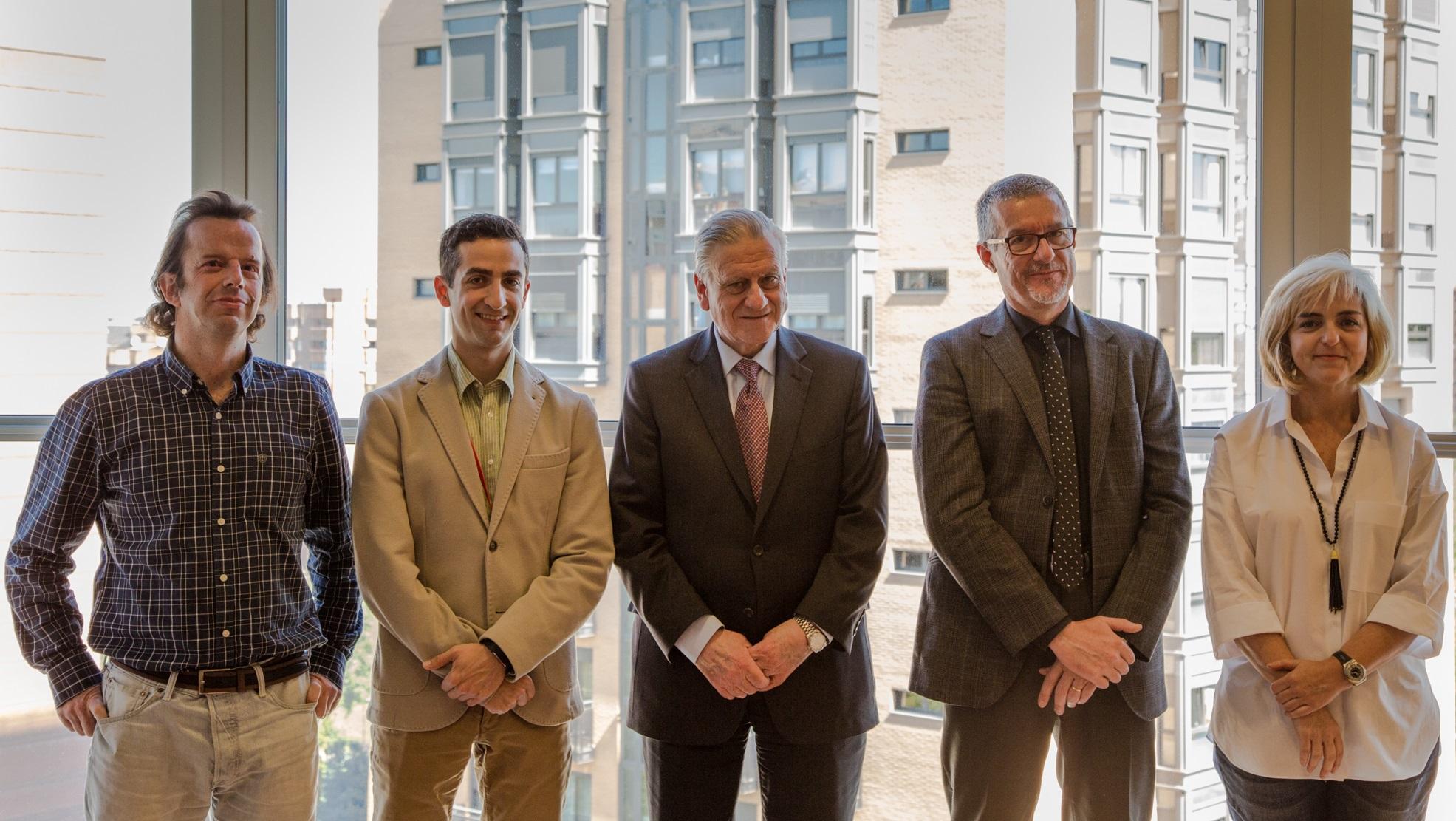 Ignacio Flores, Juan M. Fernández-Alvira, Valentín Fuster, Vicente Andrés y Beatriz Dorado