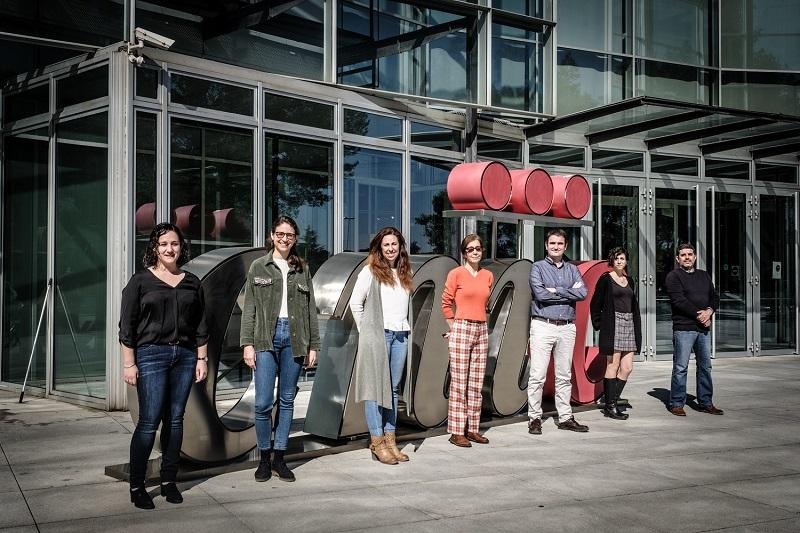 Mª Ángeles Zuriaga, Mirian Díez, Fátima Sánchez-Cabo, Ana Dopazo, José Javier Fuster, Ana Quintas y Jorge de la Barrera.
