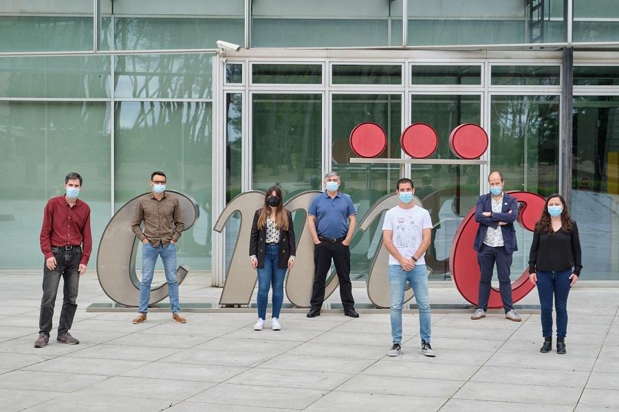 David Sancho, Carlos del Fresno, Elena Hernández-García, Manuel José Gómez, Francisco Javier Cueto, Salvador Iborra y Paola Brandi.