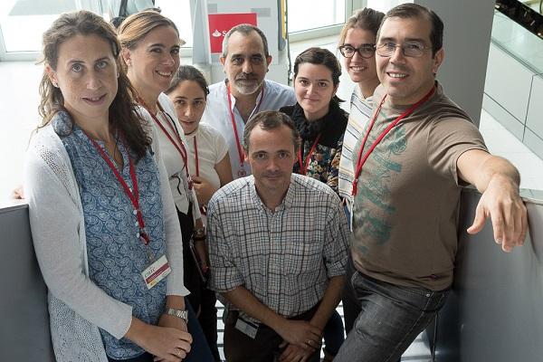 Nuria Matesanz, Guadalupe Sabio, Elena Rodríguez, José Antonio Enríquez Ana Victoria Lechuga-Vieco, Maria Crespo-Ruiz, Luis Leiva-Vega y Alfonso Mora (centro).