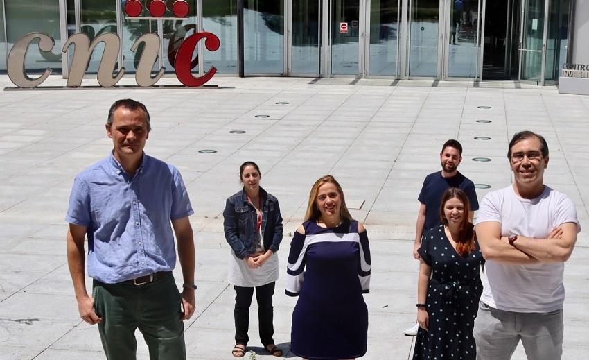 Alfonso Mora, María Elena Rodríguez Andrés, Guadalupe Sabio, Alejandro Rosell, Cintia Folgueira and Luis Leiva-Vega.