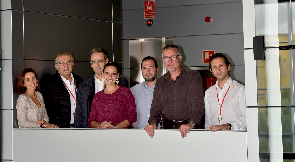 Photo: Gabriela Guzmán Martínez, José Jalife, Luis Jesús Jiménez Borreguero, Cristina González Gómez, José Rivera Torres, Vicente Andrés, and David Filgueiras.