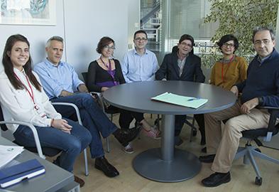Beatriz Ornés, Paula Yunes, Rebeca Acín, Pablo Gómez-del Arco, Juan Miguel Redondo, José Luis de la Pompa y Luis Jesús Jiménez-Borreguero