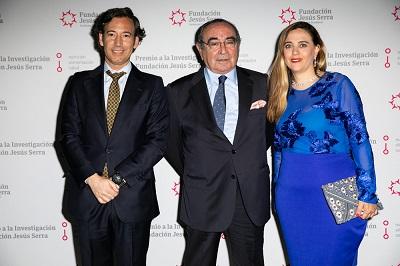 Pablo Pérez, Federico Halpern y Guadalupe Sabio