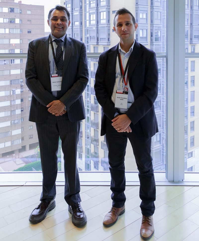 Dr. Narayan y Dr. David Filgueiras