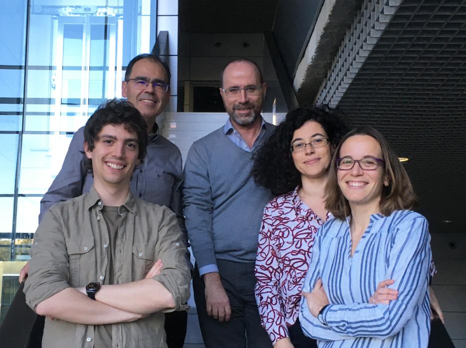 Ángel Álvarez Prado, Prof. Jesús Vázquez, Juan Antonio López del Olmo, Dra. Almudena Ramiro y Dra. Virginia G. de Yébenes