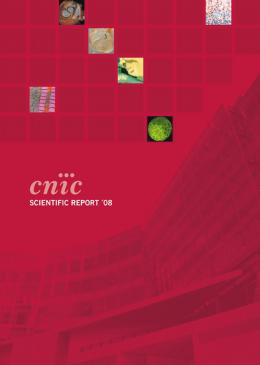 Scientific Report 2008