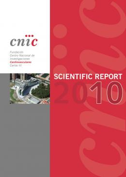 Scientific Report 2010