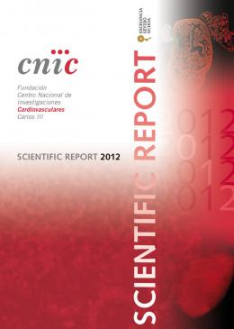 Scientific Report 2012