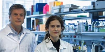 Prof. Miguel Torres y Prof. Nadia Mercader.