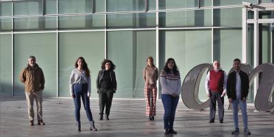 Manuel José Gómez, Ester Marina-Zárate, Almudena Ramiro, Ana Dopazo, Irene Fernández-Delgado, Francisco Sánchez-Madrid y Diego Calzada-Fraile
