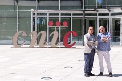 Hiro Nakauchi y Miguel Manzanares