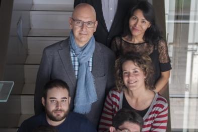 Jesús Borreguero, Miguel Campanero, Lizet Iturri, Nerea Méndez, Jorge Oller, Silvia Villahoz y Juan Miguel Red