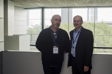 Miguel Manzanares y Omer Berenfeld